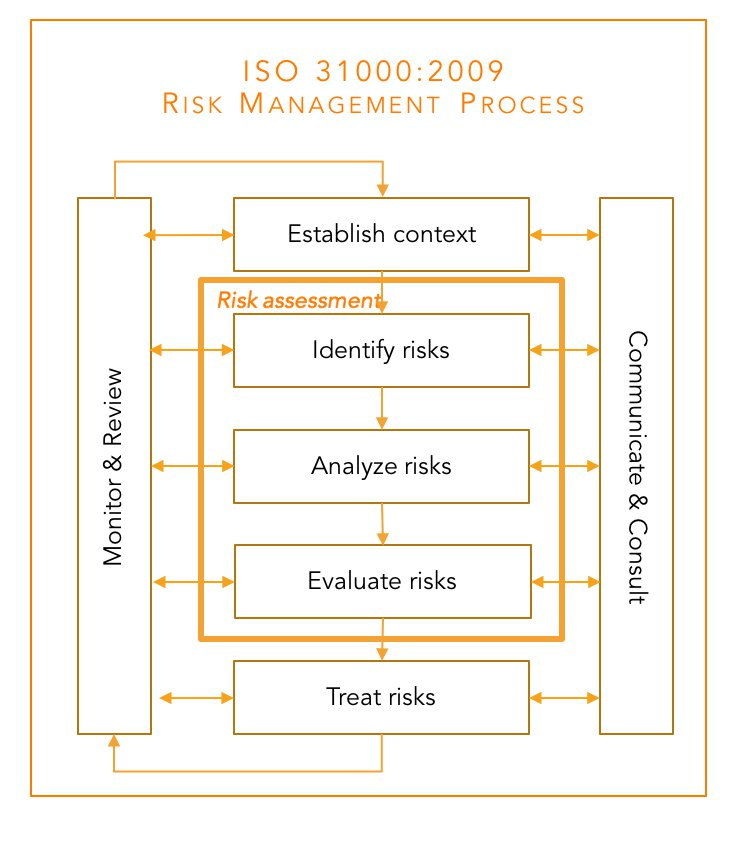 ISO 31000 risk mgt process